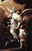 The Guardian Angel, 1656, cortona