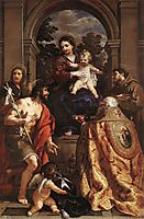 Madonna and Saints, 1628, cortona