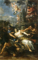 Martyrdom of Saint Lawrence, cortona