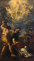 The Martyrdom of Saint Stephen, 1660, cortona