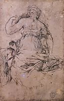 Study for the Age of Silver, c.1635, cortona
