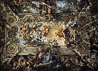 The Triumph of Divine Providence, 1639, cortona