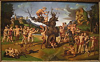 The Discovery of Honey by Bacchus, 1505, cosimo
