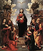 The Immaculate Conception with Saints, 1510, cosimo