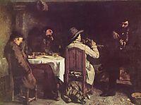 After Dinner at Ornans, 1849, courbet
