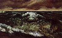 The Angry Sea, c.1870, courbet