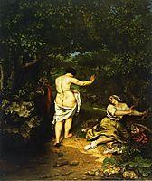 Bathers, 1853, courbet