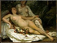 The Bathers, 1858, courbet