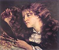 Jo the Irish or The beautiful Irish, Joanna Hiffernan, 1866, courbet