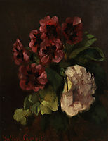 Bouquet of Flowers, 18, courbet