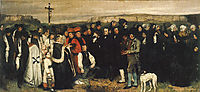 Burial at Ornans, 1849, courbet
