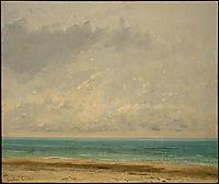 Calm Sea, 1866, courbet