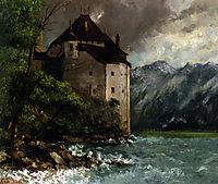 Chateau de Chillon, 1873, courbet