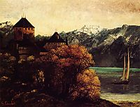 The Chateau de Chillon, c.1874, courbet
