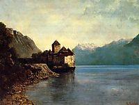 Chillon Castle, 1874, courbet