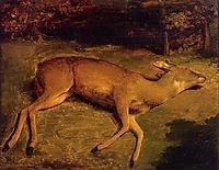 The Dead Doe, 1857, courbet