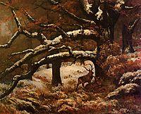 Deer Shelter, 1868, courbet