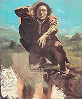 The Desperate Man, 1843, courbet
