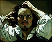 The Desperate Man (Self-Portrait), 1845, courbet