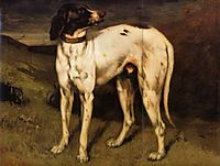 Dog from Ornans, 1856, courbet
