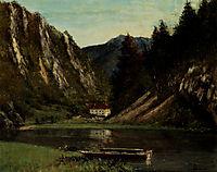 Doubs, à la Maison-Monsieur, 1875, courbet