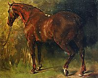 The English Horse of M. Duval, courbet
