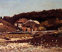 Farm of Bonnevaux, 18, courbet