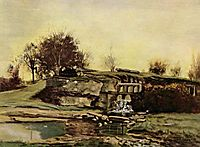 The Flood Gate at Optevoz, 1854, courbet