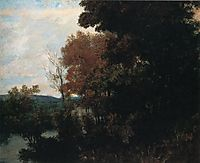 The Forest Edge, courbet