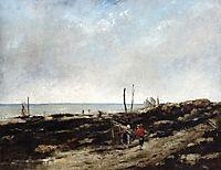 Going Fishing, 1865, courbet