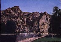 La Meuse a Freyr , 1856, courbet