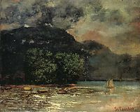 Lake Geneve before the Storm, c.1877, courbet