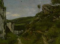 Landscape, 1868, courbet