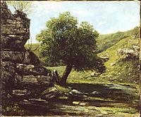 Landscape, 1873, courbet