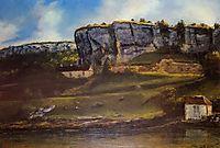 Landscape of the Ornans Region, 1866, courbet
