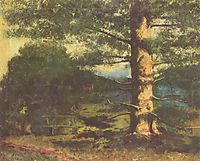Landscape with Tree, c.1868, courbet
