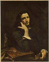 The Man with the Leather Belt, a Portrait of the Artist, courbet