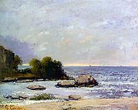 Marine de Saint Aubin, 1872, courbet