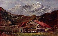 The Mountain Hut, courbet