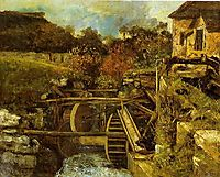 The Ornans Paper Mill, c.1865, courbet