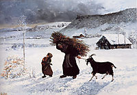 Poor Woman of the Village, courbet