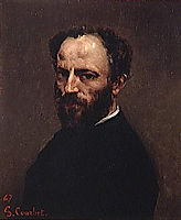 Portrait of Amand Gautier, 1867, courbet