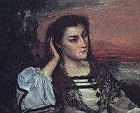 Portrait of Gabrielle Borreau, 1862, courbet