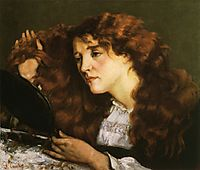 Portrait of Jo, the Beautiful Irish Girl, 1865, courbet