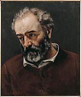 Portrait of Paul Chenavard, courbet