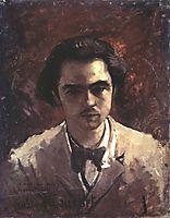 Portrait of Paul Verlaine, courbet