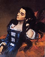 Portrait of a Spanish Lady, 1855, courbet