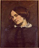 Portrait of Zélie Courbet, courbet