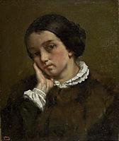 Portrait of Zélie Courbet, 1847, courbet
