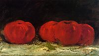 Red Apples, 1871, courbet
